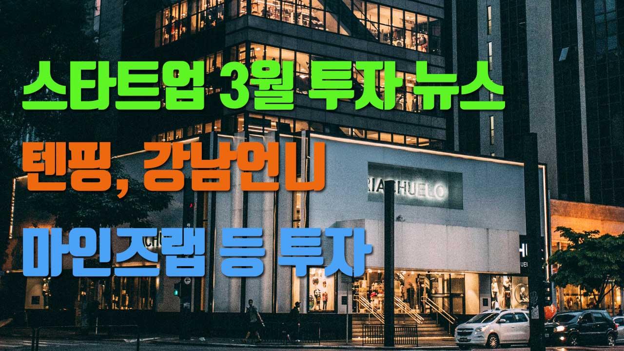 텐핑등 스타트업 투자 큐레이션